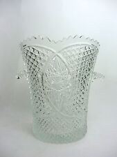 Vintage Cut Crystal Ice Bucket