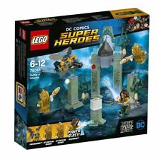 Lego Super Heroes 76085 Das Kräftemessen um Atlantis Bausteine Aquaman Superheld