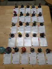 HeroClix Marvel 2012 10th Anniversary carded set