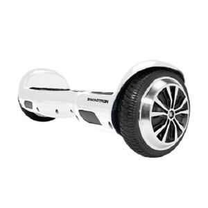 Swagtron T1 UL2272 listed Motorized Self Balancing Electric Scooter - White