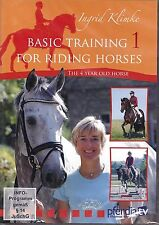 NEW DVD TRAINING FOR RIDING HORSES vol 1 Ingrid Klimke