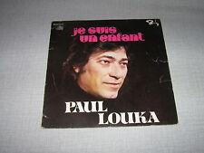 PAUL LOUKA 45 TOURS BELGIQUE JE SUIS UN ENFANT