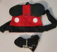 Mickey Mouse Toddler Safety Harness With Detachable Leash