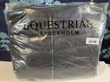 Equestrian Stockholm Women's Lightweight Riding Jacket Size XL Navy Blue