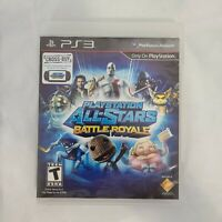 Playstation All-Stars Battle Royale Sony PS3 2012 T-Teen Complete Tested/Working