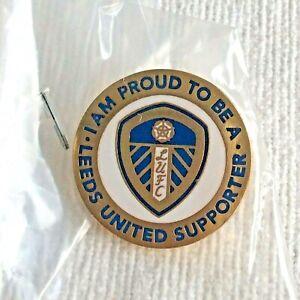 Leeds United new support pin season 21-22