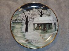 Franklin Mint The Christmas Gift Plate Carol J. Endres F1469