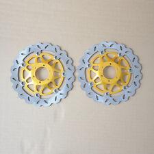 2 Disque de Frein Avant Honda CBR600 FX/FY VFR800 FIW/FIX FIY/FI1 CBR900 XL1000