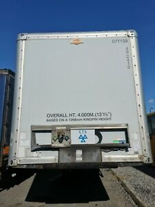 Box Trailer Tandem Double Axle Good Condition Tail Lift
