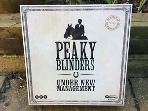 """PEAKY BLINDERS BOARD GAME - """"UNDER NEW MANAGEMENT"""" - New & Sealed."""
