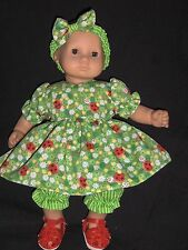 "Lady Bug Dress Pants 15"" Doll Clothes Handmade to fit American Girl Bitty Baby"