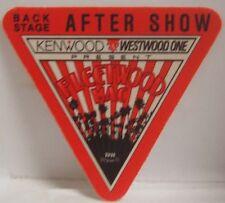 Fleetwood Mac / Stevie Nicks - Original Tour Cloth Backstage Pass