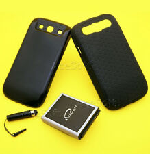 New 7570mAh Extended Li-ion Battery+Cover+Case f Samsung Galaxy S III