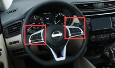 ABS Chrome Steering Wheel  Cover Trim for Kicks 2016 2017 2018