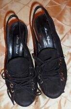 MAURO VOLPONI very stylish platform shoes with sling back, 7 1/2 size
