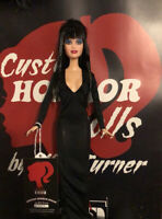 SALE! Elvira, Mistress of the Dark CUSTOM HORROR DOLL OOAK 12 Inch