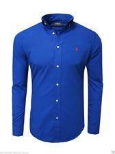 Maschinenwäsche Klassische Herrenhemden im Button-Down-Kragen-Stil aus  Baumwollmischung auf Slim Fit 7aeef33110