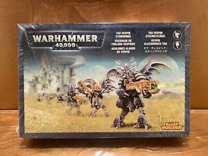 Warhammer 40k Tau Vespid Stingwings - Blister / Metal x 6 NIB