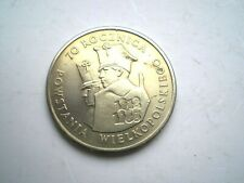 COMMEMORATIVE 100 ZLOTYCH COIN FROM POLAND 1988-AUNC
