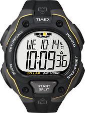 Timex Ironman 50 Lap Watch - Black/yellow T5k494