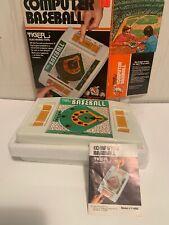Tiger Electronic Toys Computer Baseball Handheld Game 1979 MIB