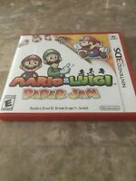 Mario & Luigi: Paper Jam (Nintendo 3DS, 2016) Fast Free Shipping
