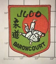 Baroncourt Judo Patch