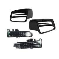 Spiegelblinker+Gehäuse Außenspiegel Schwarz Für Benz W176 W246 W204 W212 C218