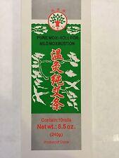 Pure Moxa Rolls for Mild Moxibustion - 温灸纯艾条 - 10 Rolls x 6 Box