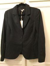 Santorelli Kristina Woman's Jacket Size 12 Blue wool