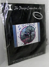 Kindred Spirits Counted Cross Stitch Kit Circle Landscape Flowers Tree NEW K5114