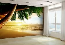 Sunrise on Caribbean Beach Wallpaper Mural Photo 17688492 budget paper