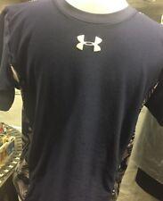 Boys Under Armour Size XL Navy Short Sleeve