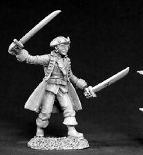 Santoine Pirate Reaper Miniatures Dark Heaven Legends RPG Swashbuckler Captain