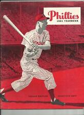 1961 2ND EDITION PHILADELPHIA PHILLIES YEARBOOK EX MINT VERY RARE