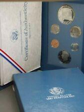 1987 Us Mint Prestige Set Box & Coa East Coast Coin & Collectables, Inc.