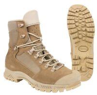 Chaussures de combat trek chaud Rangers Meindl sable armée Française