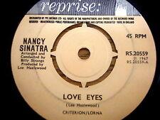 """NANCY SINATRA - LOVE EYES      7"""" VINYL"""
