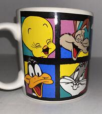 Large Vintage 1994 Warner Bros. Looney Toons Animation Characters Coffee Cup Mug