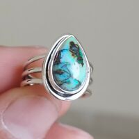 MONARCH OPAL NATURAL GEMSTONE 925 STERLING SILVER HANDMADE JEWELRY RING 3 TO 12