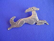 Stylized Saluki pin Jumping #15T sighthound Dog Jewelry by Cindy A. Conter