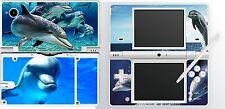 Nintendo DSi NDSi-Thème Dauphins - 4 pièces-Autocollant Peau Vinyle