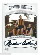 2011 Select Hawthorn Heritage Premiership Captain Signature GRAHAM ARTHUR