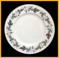 6 x Royal Doulton Burgundy 6 1/2 Inch Tea  Side Plates