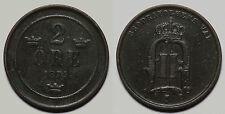 SUECIA.   2 ORE 1874.   MBC -