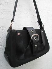 -AUTHENTIQUE (réf: MCKG)  sac à main   LANCEL toile et cuir  TBEG   bag vintage