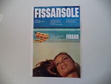 advertising Pubblicità 1977 FISSAN FISSANSOLE
