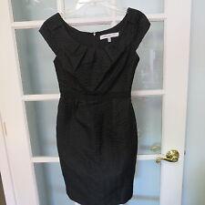 Carmen Marc Valvo Black cap sleeve size 2 dress ladies womens designer cocktail