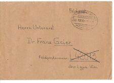 Germany 1906 Bahnpost Railway Feldpost Cover Oval Cancel