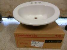 Drop In Top Mount Bathroom Bathroom Sinks For Sale Ebay